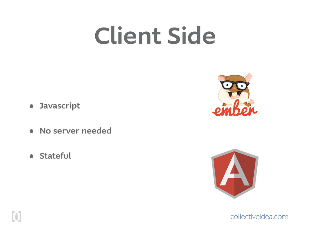 collectiveidea.com Client Side • Javascript • N...