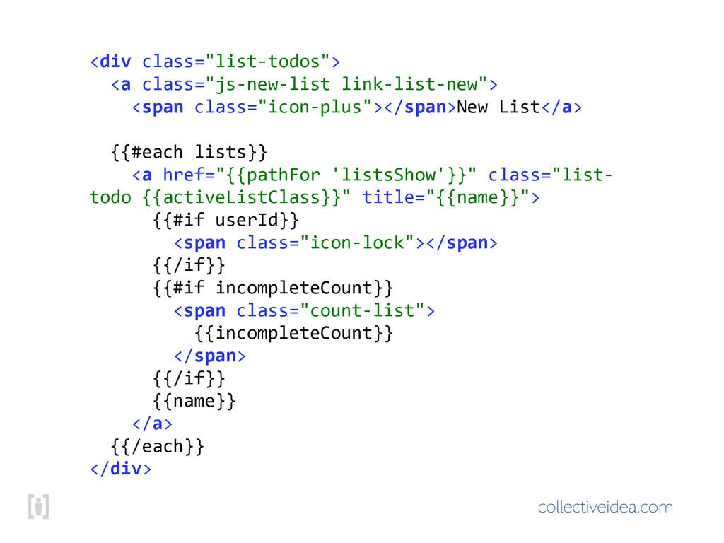 """collectiveidea.com <div!class=""""list\todos""""> !!..."""
