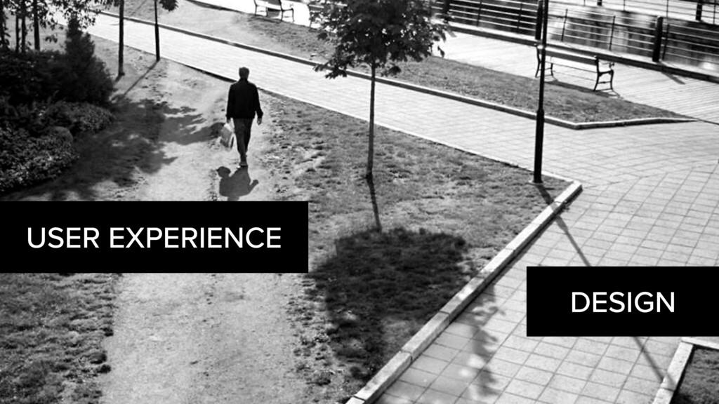 DESIGN USER EXPERIENCE