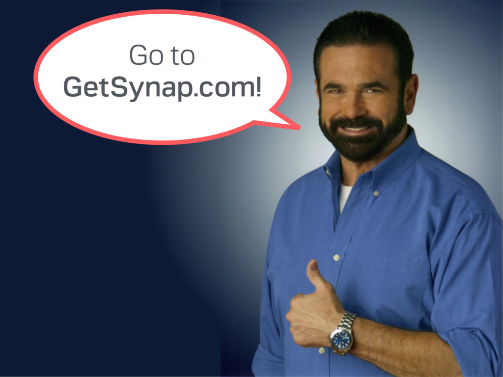 Go to GetSynap.com!