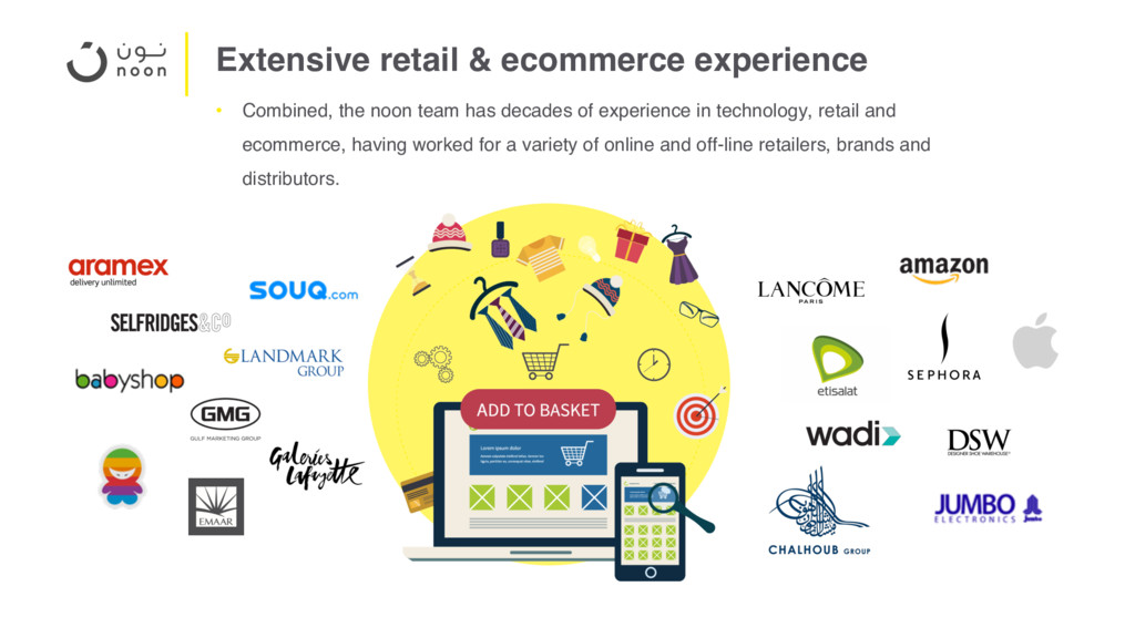 Extensive retail & ecommerce experience • Combi...
