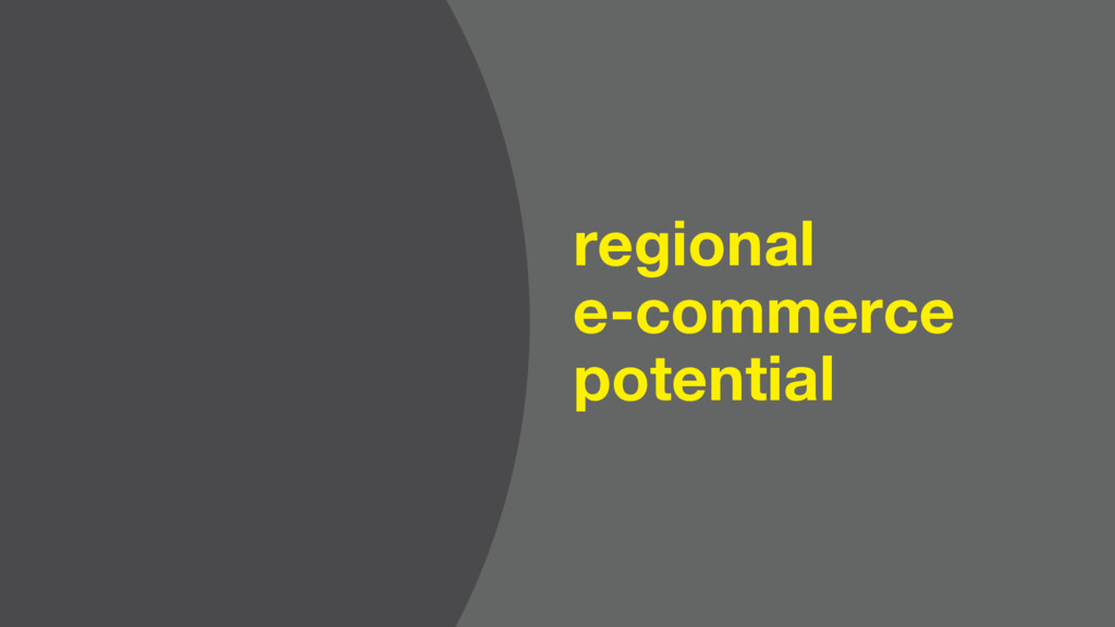 regional e-commerce potential