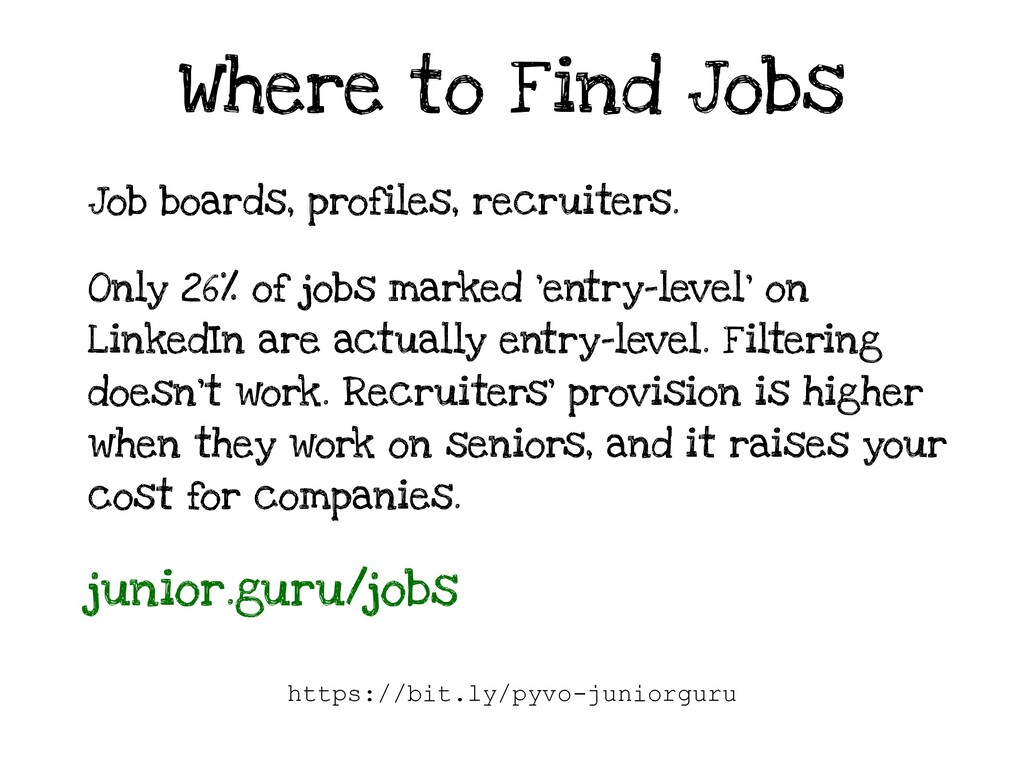 Where to Find Jobs Job boards, profiles, recrui...