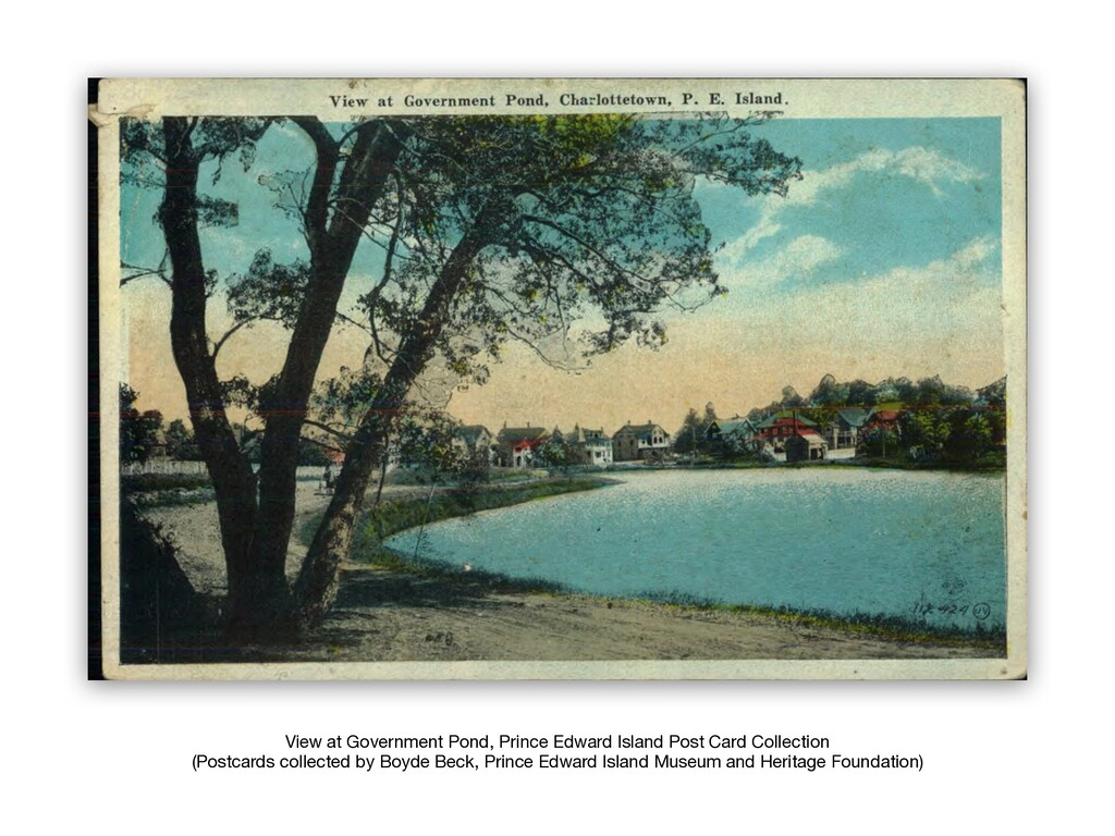 View at Government Pond, Prince Edward Island P...