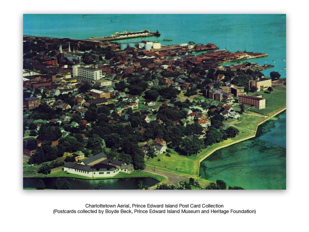 Charlottetown Aerial, Prince Edward Island Post...