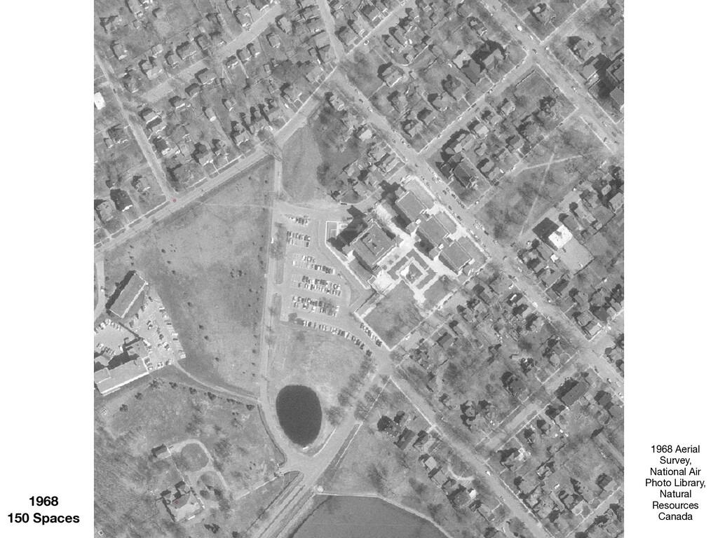 1968 150 Spaces 1968 Aerial Survey, National Ai...