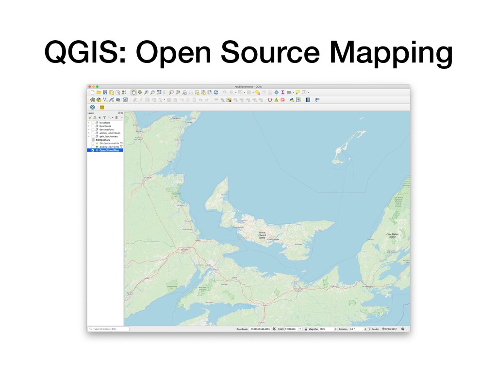 QGIS: Open Source Mapping
