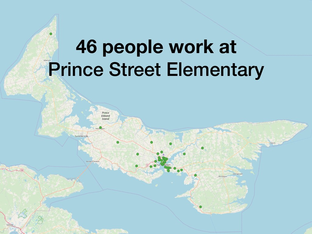 46 people work at Prince Street Elementary