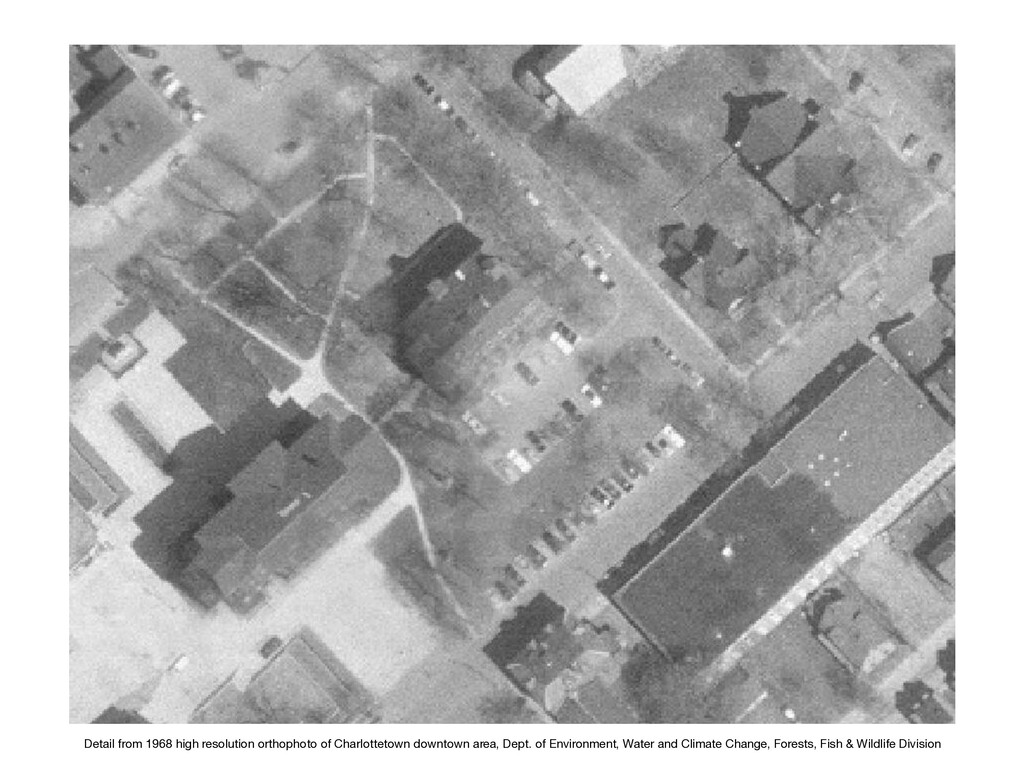 Detail from 1968 high resolution orthophoto of ...