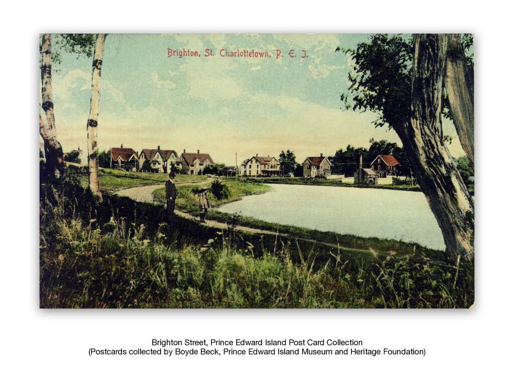 Brighton Street, Prince Edward Island Post Card...