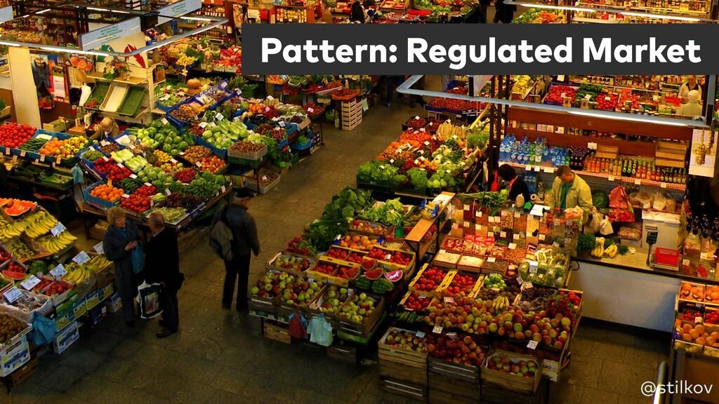 Pattern: Regulated Market @stilkov