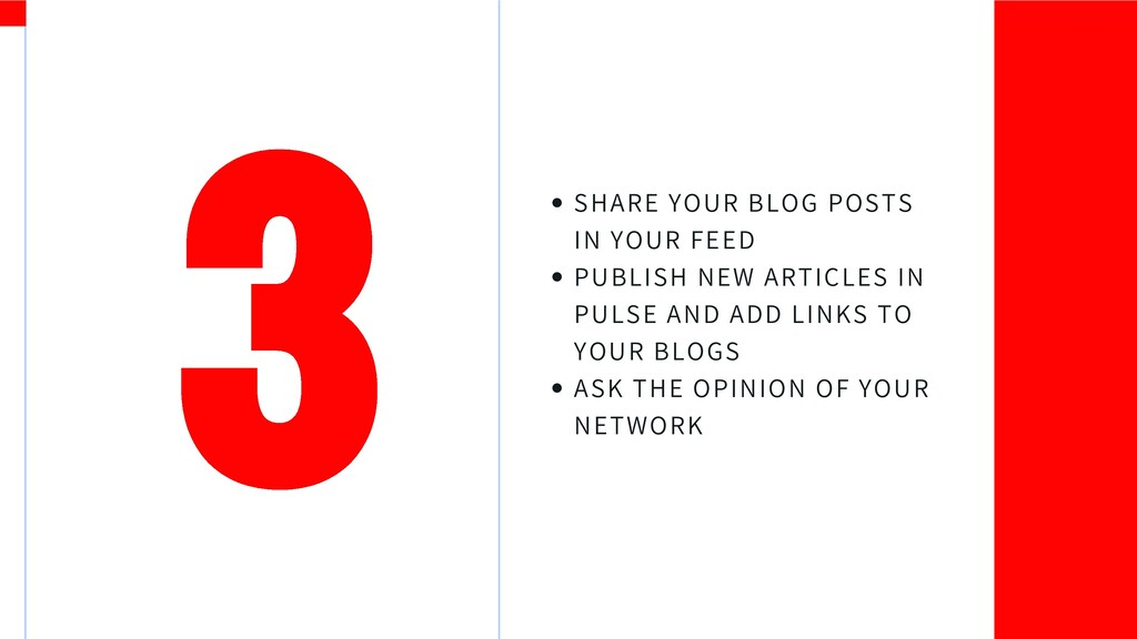 SHARE YOUR BLOG POSTS IN YOUR FEED PUBLISH NEW ...