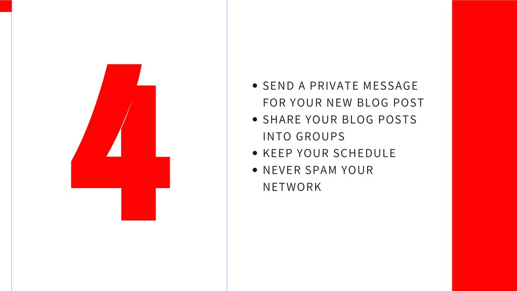 SEND A PRIVATE MESSAGE FOR YOUR NEW BLOG POST S...