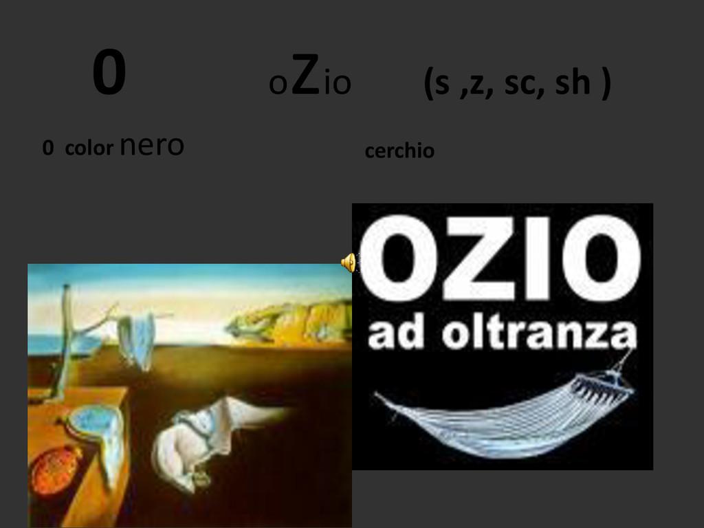 0 o zio (s ,z, sc, sh ) 0 color nero cerchio