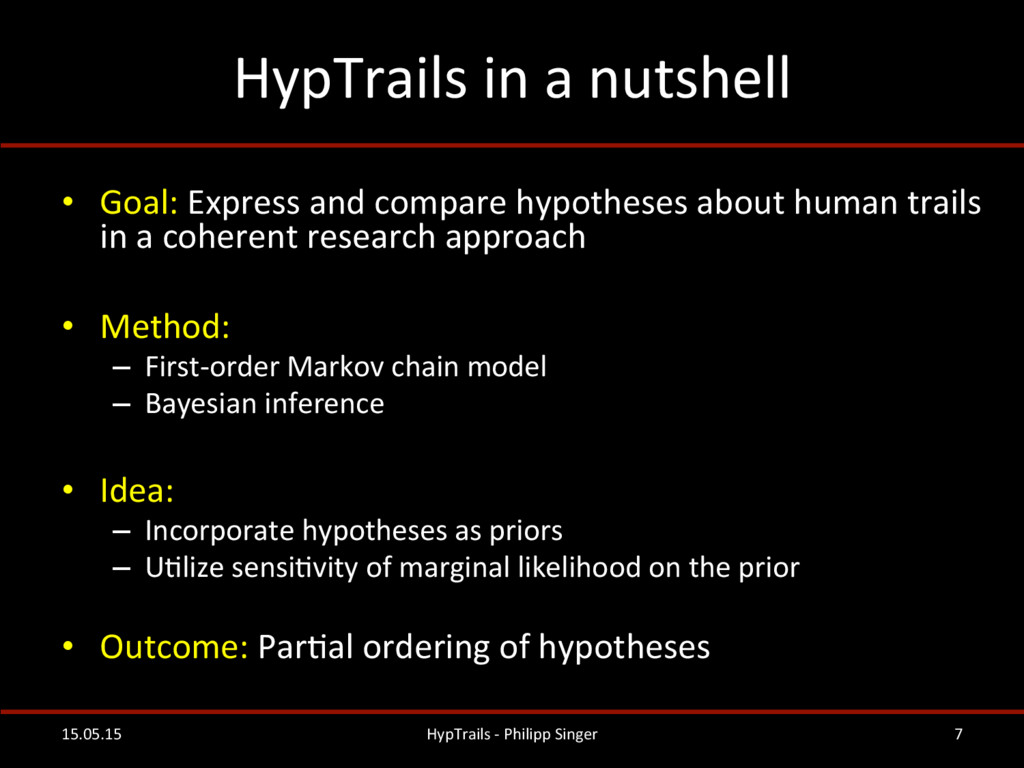 HypTrails	