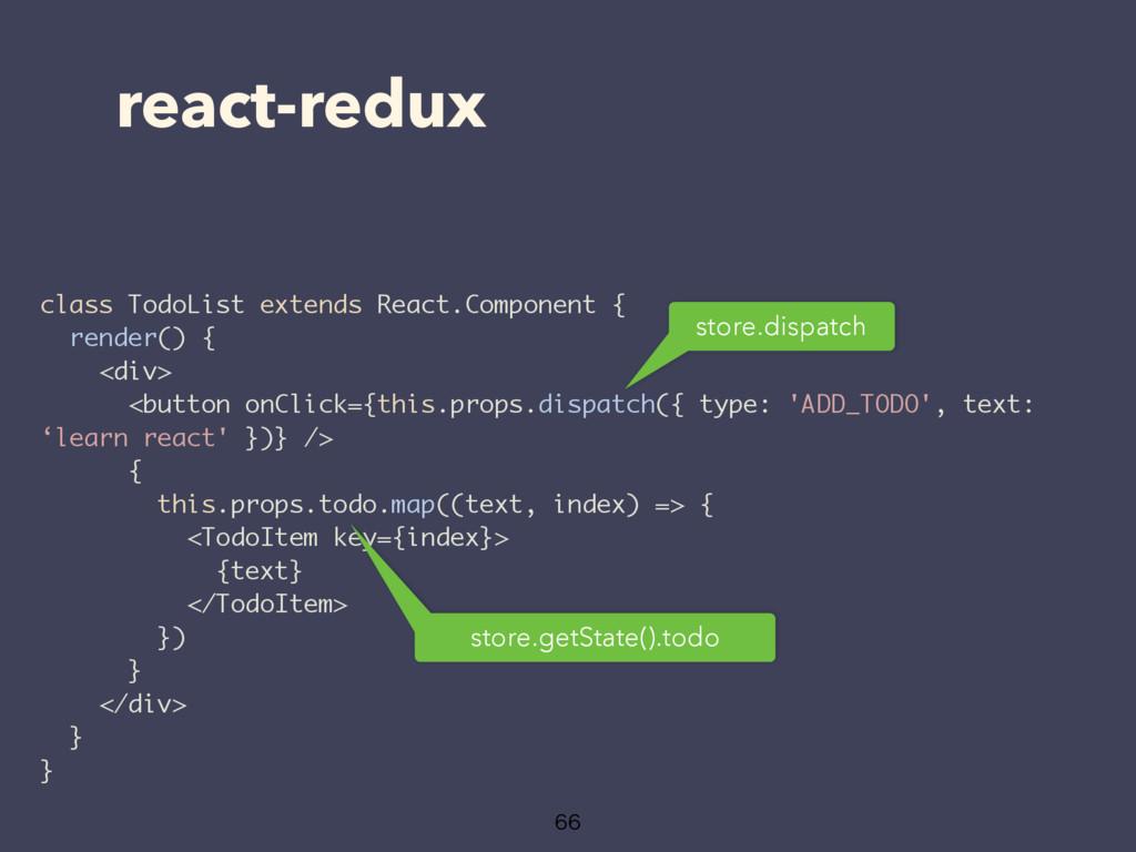 react-redux class TodoList extends React.Compon...