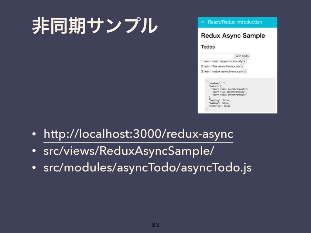 ඇಉظαϯϓϧ • http://localhost:3000/redux-async • s...