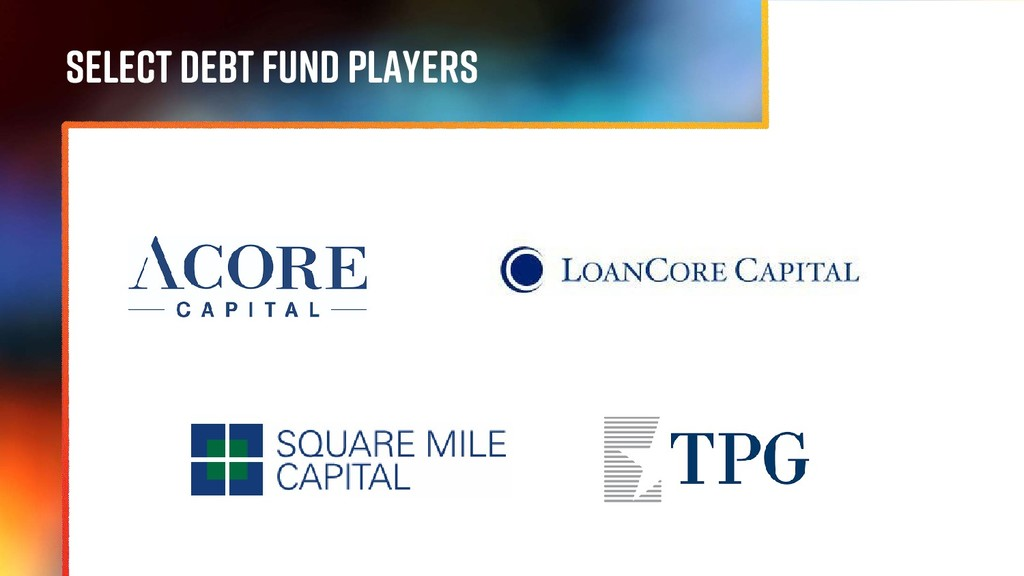 SELECT DEBT FUND PLAYERS