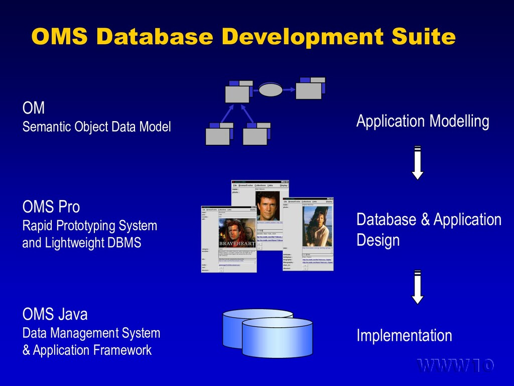 OMS Database Development Suite Application Mode...