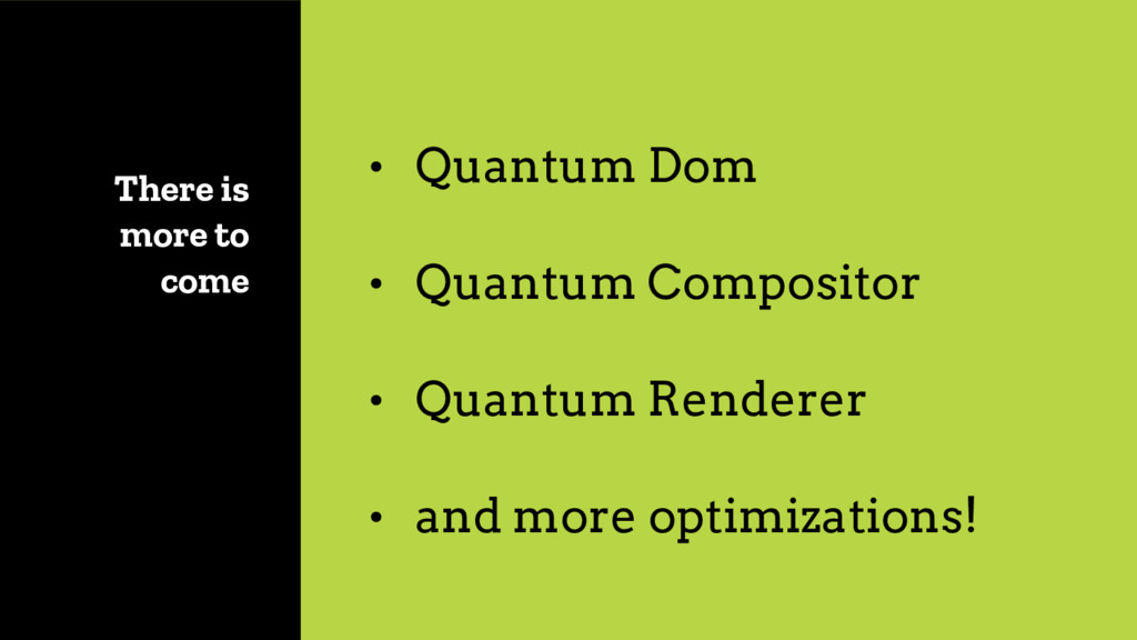 There is more to come • Quantum Dom • Quantum C...
