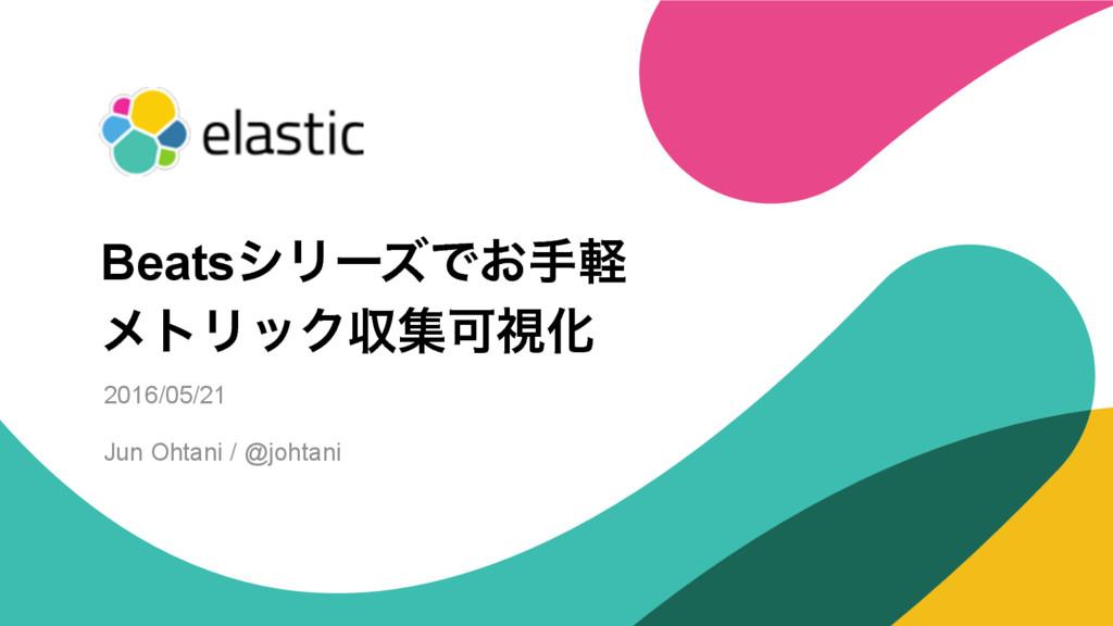 ‹#› 2016/05/21 Jun Ohtani / @johtani BeatsγϦʔζͰ...