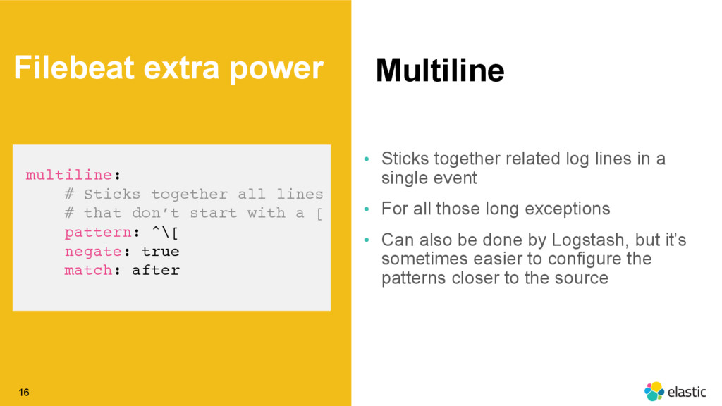 ‹#› Multiline 16 multiline: # Sticks together a...