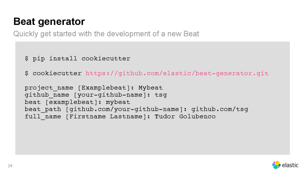 Beat generator Quickly get started with the dev...