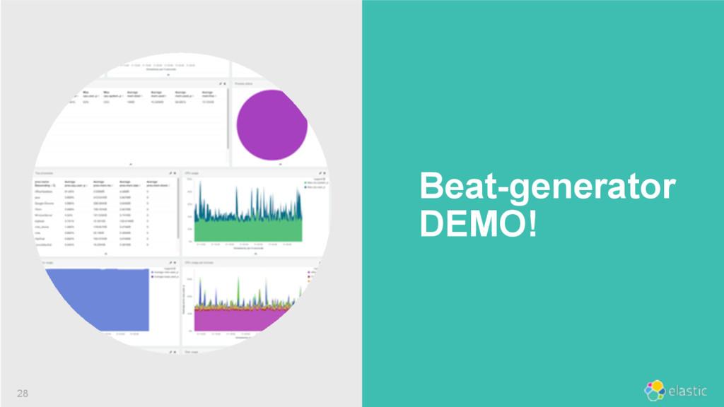 ‹#› Beat-generator DEMO! 28