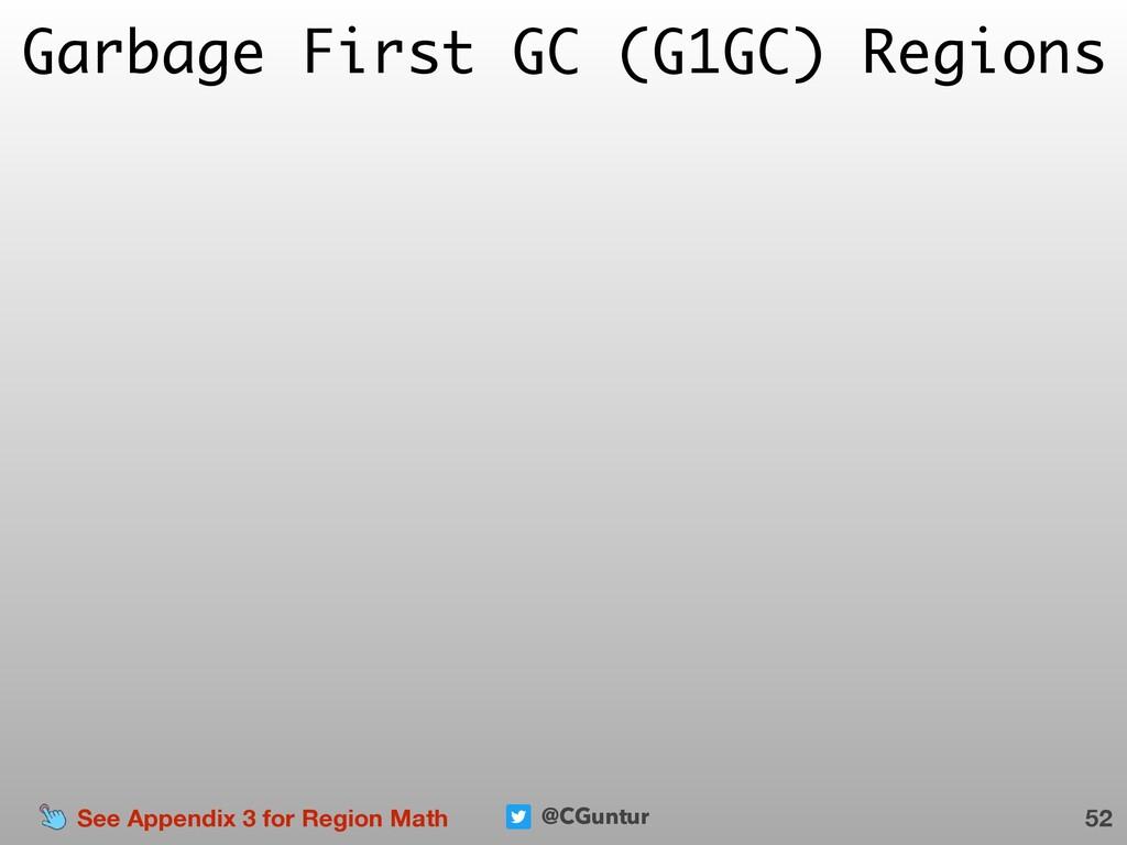 @CGuntur Garbage First GC (G1GC) Regions 52 See...