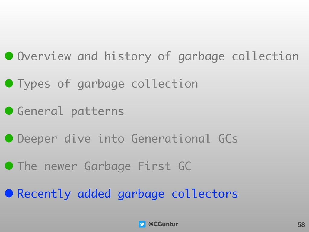 @CGuntur 58 • Overview and history of garbage c...