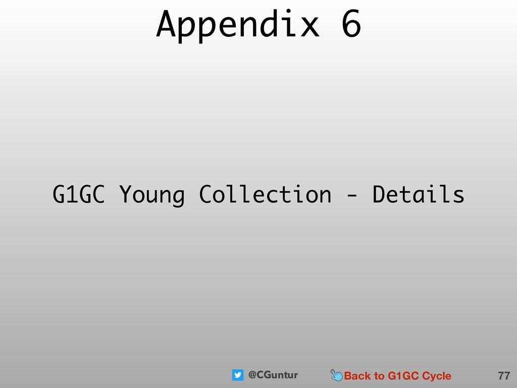 @CGuntur Appendix 6 77 G1GC Young Collection - ...