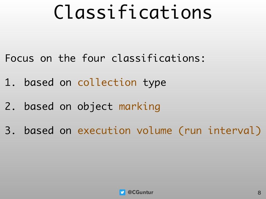 @CGuntur Classifications Focus on the four clas...