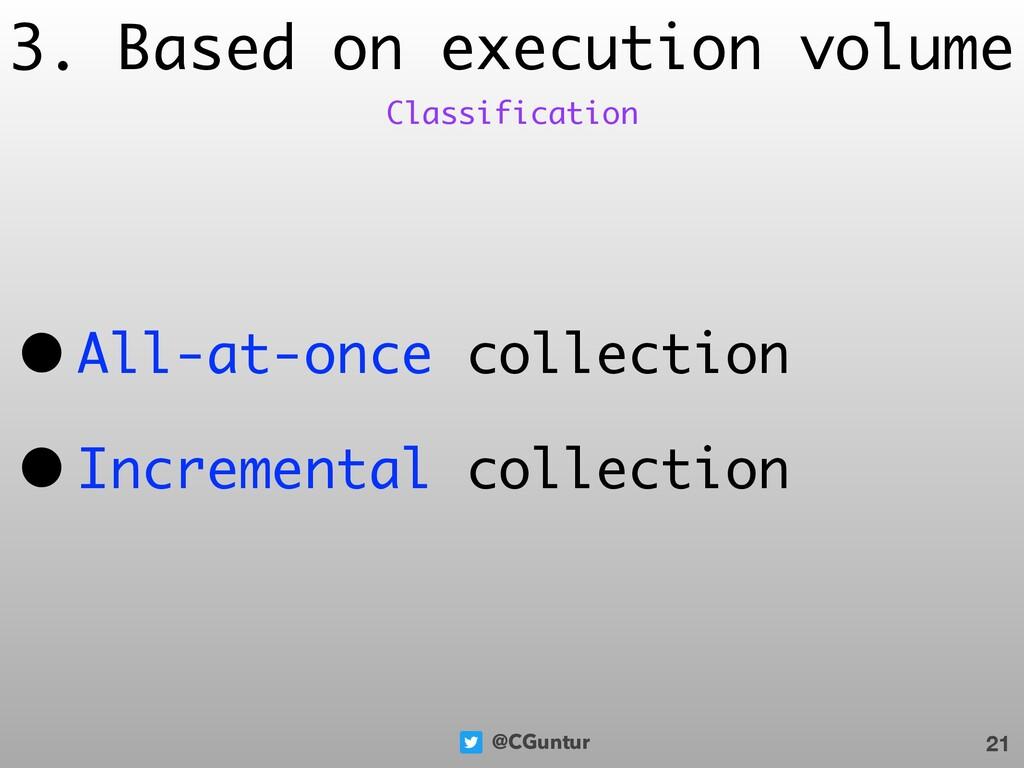 @CGuntur 3. Based on execution volume • All-at-...