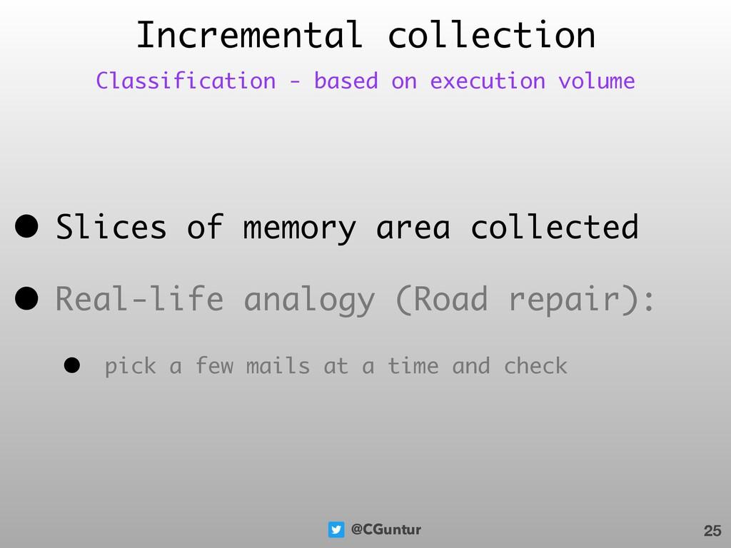 @CGuntur • Slices of memory area collected • Re...