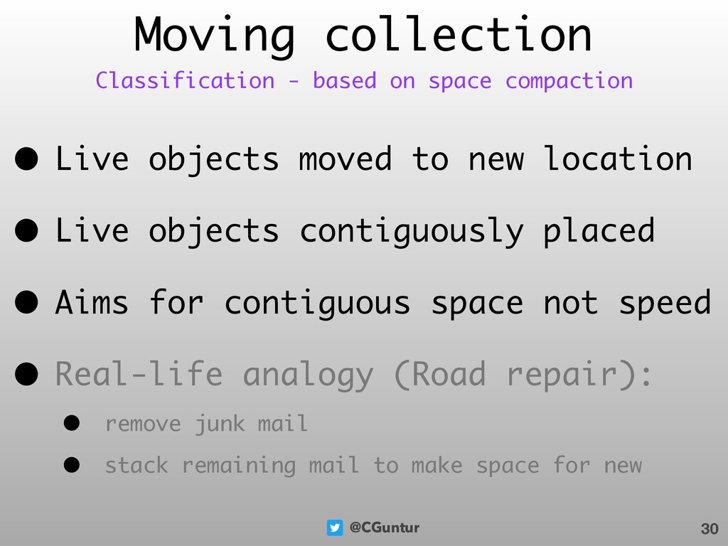 @CGuntur • Live objects moved to new location •...