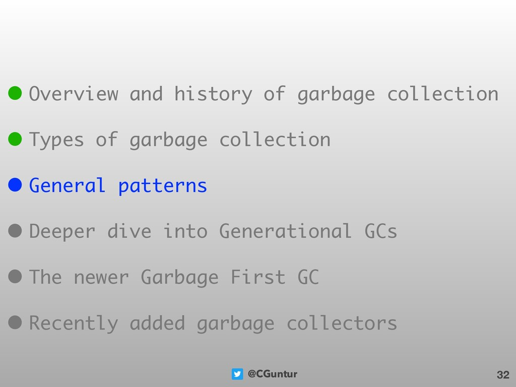 @CGuntur 32 • Overview and history of garbage c...