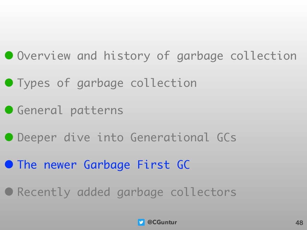 @CGuntur 48 • Overview and history of garbage c...
