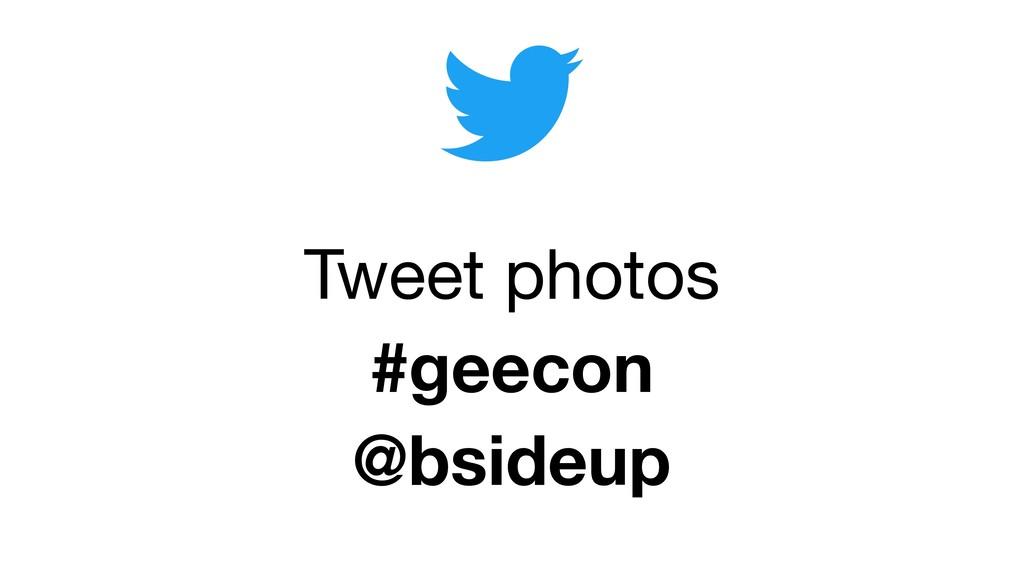 Tweet photos #geecon @bsideup