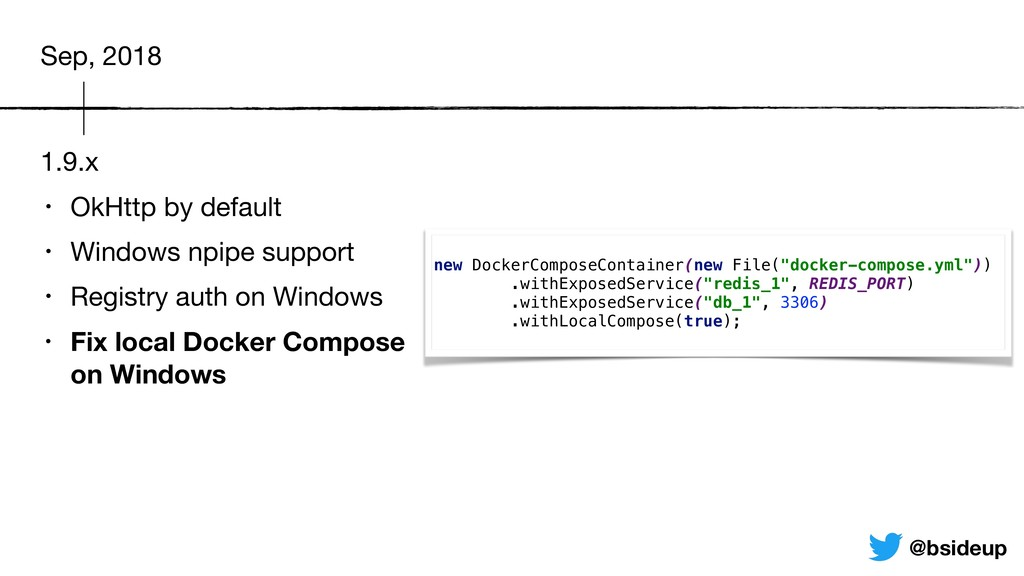 1.9.x • OkHttp by default  • Windows npipe supp...