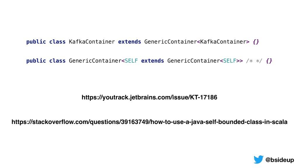public class KafkaContainer extends GenericCont...