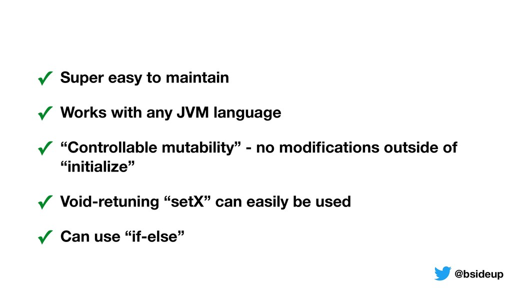 ✓ Super easy to maintain ✓ Works with any JVM l...