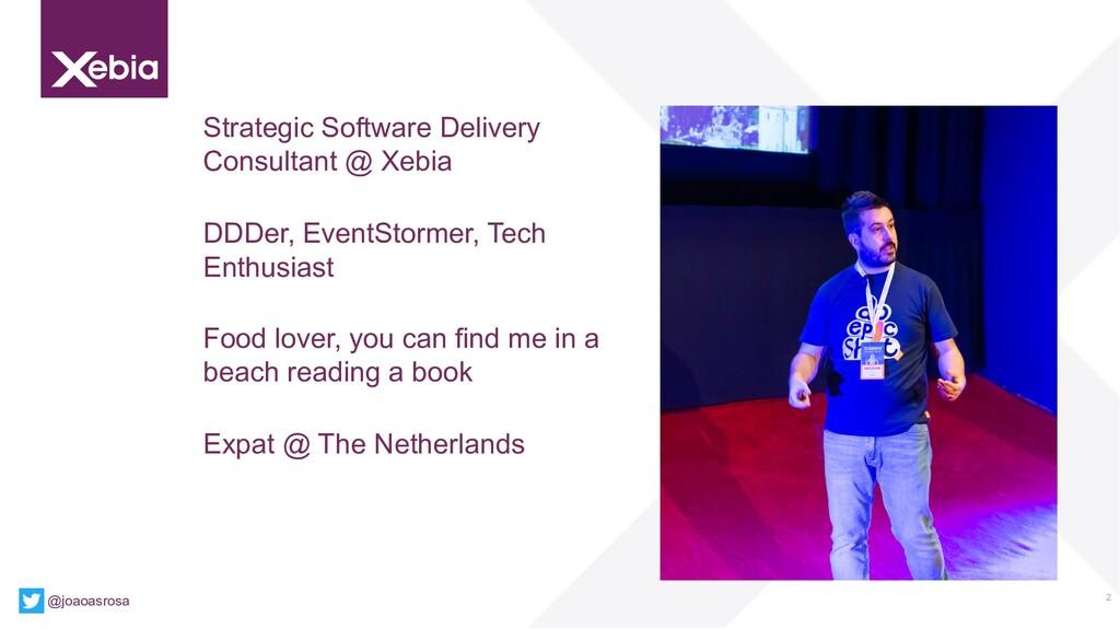 2 Strategic Software Delivery Consultant @ Xebi...