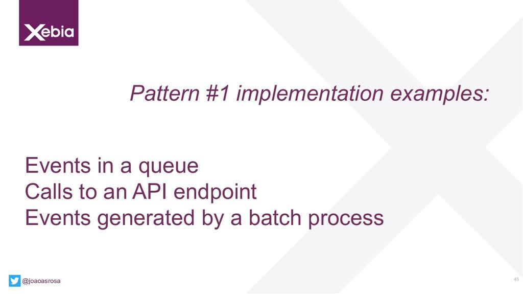 45 @joaoasrosa Pattern #1 implementation exampl...