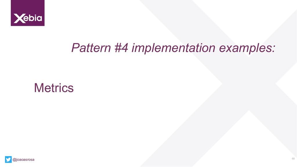 60 @joaoasrosa Pattern #4 implementation exampl...