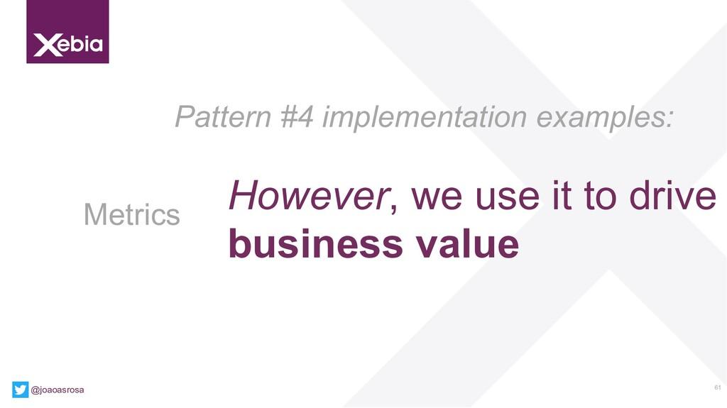 61 @joaoasrosa Pattern #4 implementation exampl...