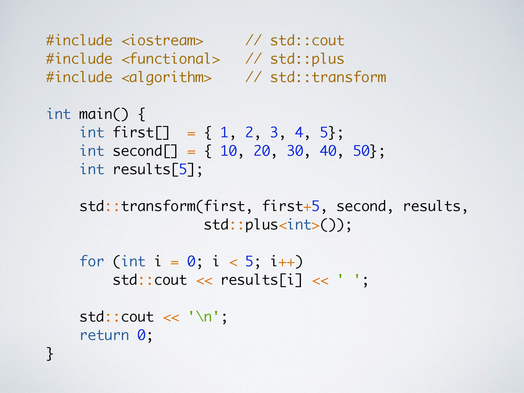 #include <iostream> // std::cout #include <func...