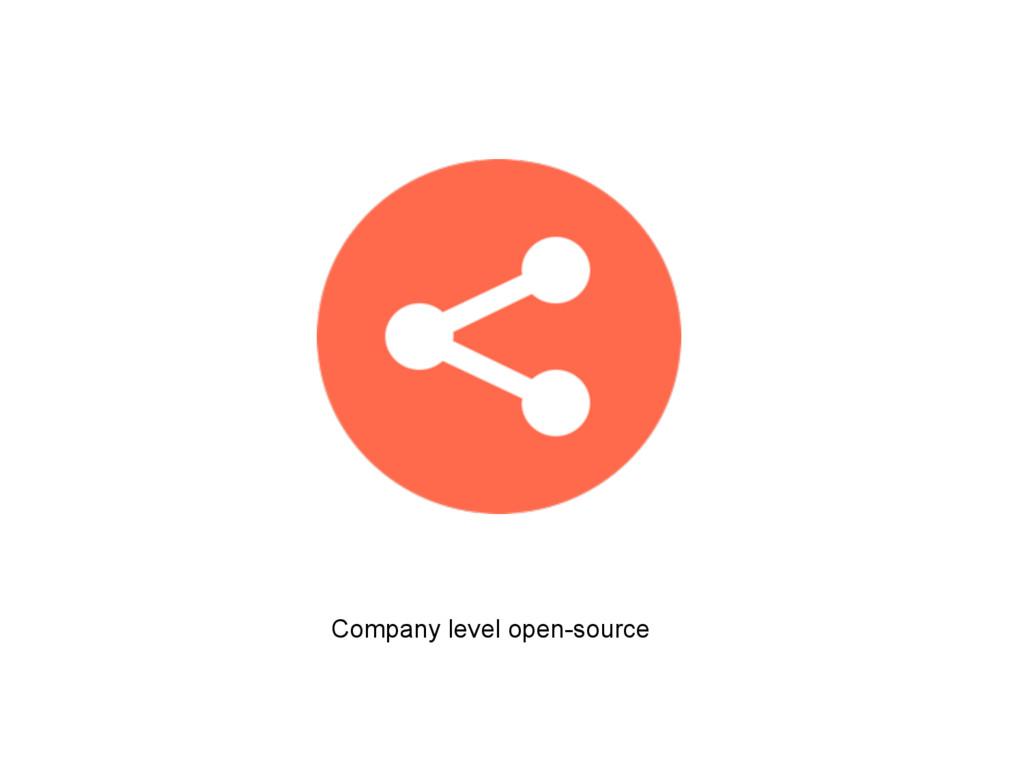 Company level open-source