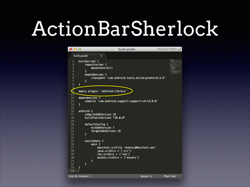 ActionBarSherlock
