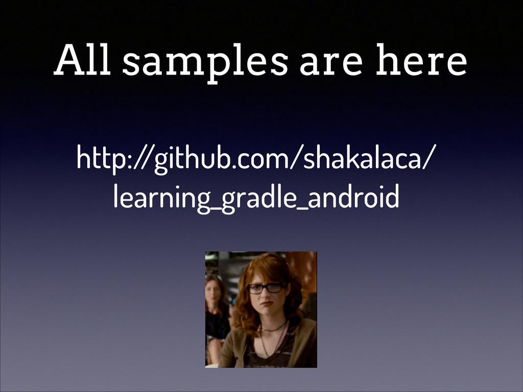 All samples are here http:/ /github.com/shakala...