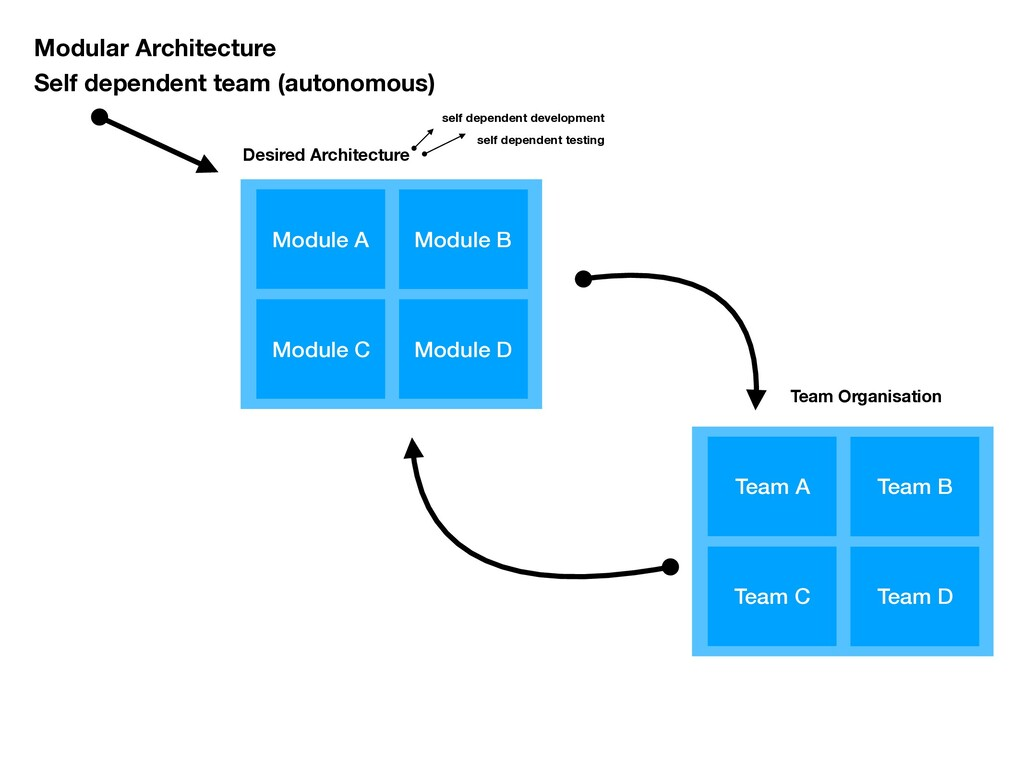 Modular Architecture Self dependent team (auton...
